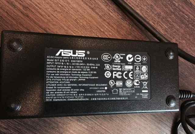 Оригинальный Адаптер asus 19V, 6.32Amodel EXA1106Y