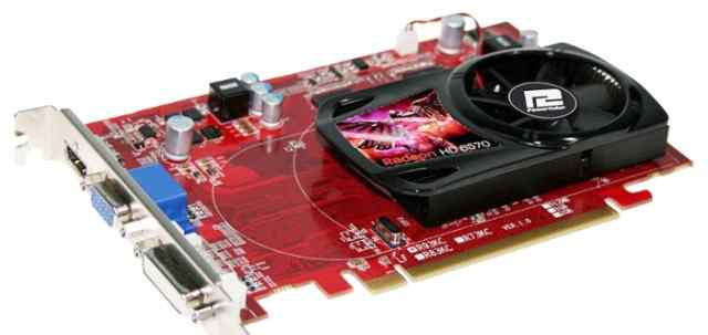 Видеокарта PowerColor Radeon HD6570 1024MB