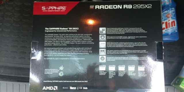 AMD R9 295 X2 8GB Sapphire