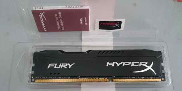 Kingston HyperX fury Black PC3 1333MHz