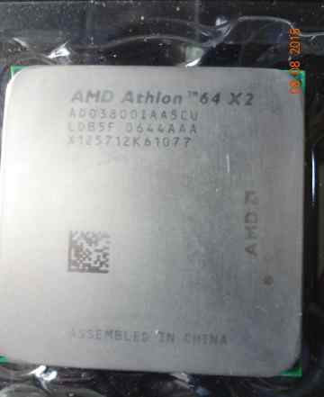 AMD Athlon 64 X2 (двухядерный) с частотой 2000MHz