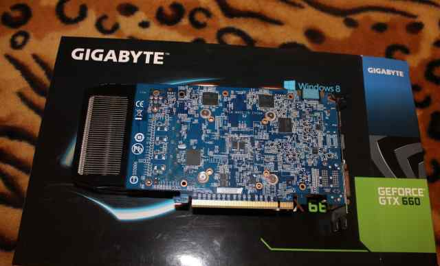 Видеокарта Gigabyte GeForce GTX 660