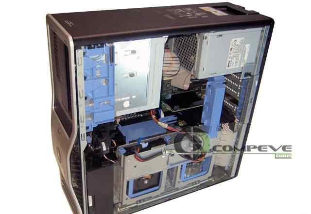 Сервер dell T5400 dual xeon игровой