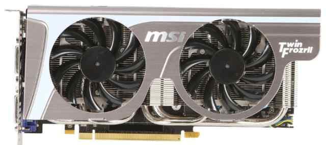 Видеокарта 1Gb MSI N560GTX-Ti/OC