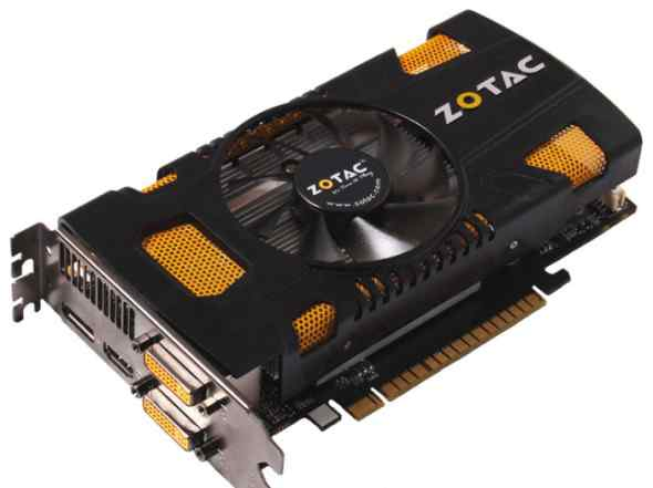 Zotac Geforce GTX 550 Ti AMP Edition