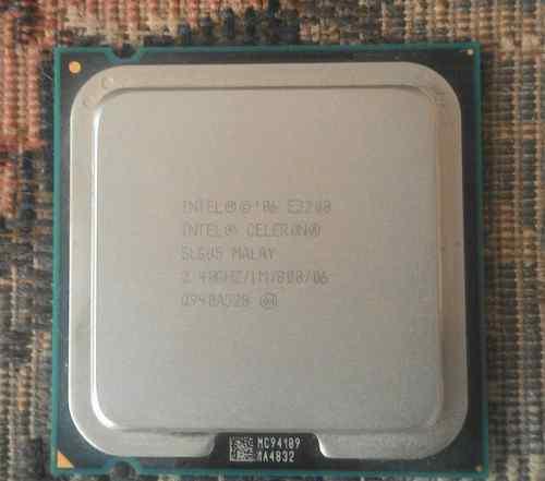 Двухъядерный процессор intel celeron e3200 2.4GHz