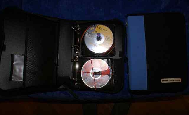 два кейса с дисками Microsoft msdn 2007