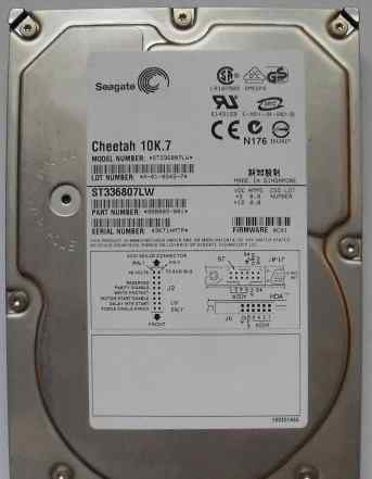Scsi ultra320 10K Seagate Cheetah 36 gb