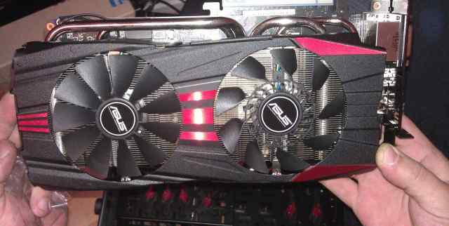 Видеокарта Asus GeForce GTX 780 GTX780-DC2OC-3GD5