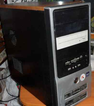 Компьютер системный блок 2.4GHz, 320HDD, Geforce86