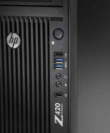 HP Z420 Xeon 1650v1 12 Ядер HT с Монитором