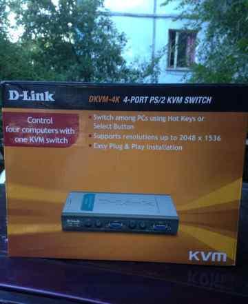 D-Link dkvm-4K