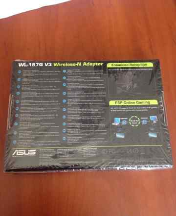 Asus wl-167G v3 adapter