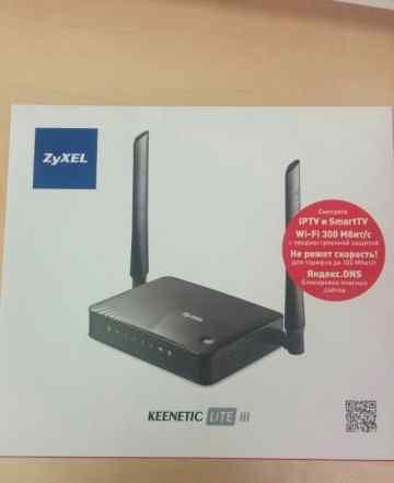 Роутер wi-fi zyxel keenetic iii