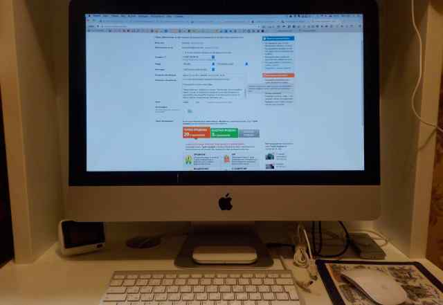 iMac 21.5 mid 2011, (MC309RS/A), 16 Гб + MS Office