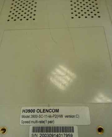 OlenCom H3900 G. shdsl E1 модем