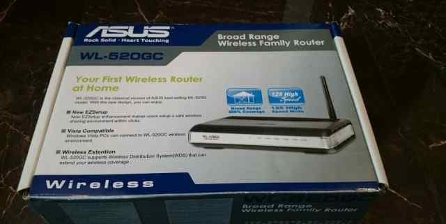 Asus WiFi router WL-520GC