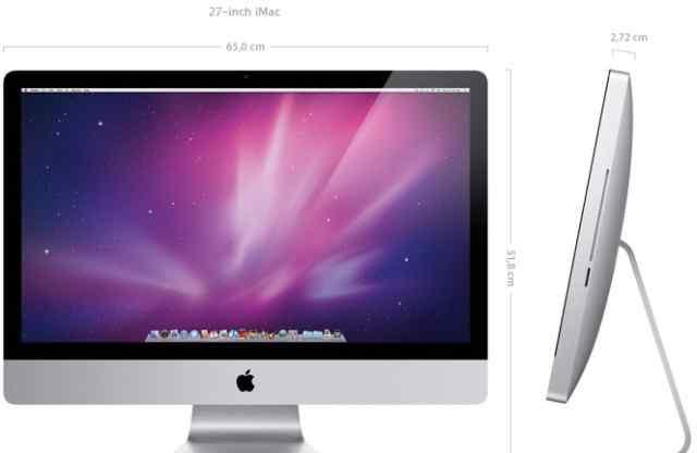 """Продам iMac """"27 Late 2009 Как Новый"""