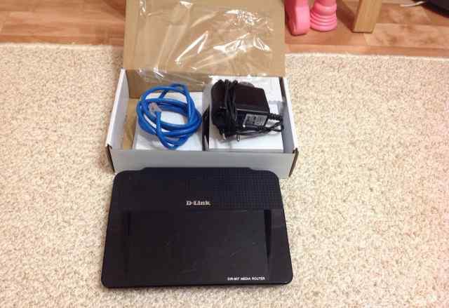 Модем D-link DIR-857 media router