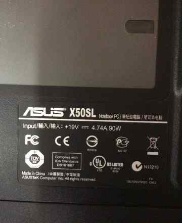 Asus x505sl
