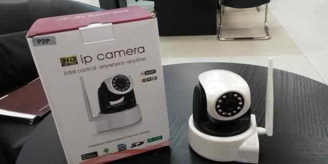 WiFi Беспроводная IP камера 3D