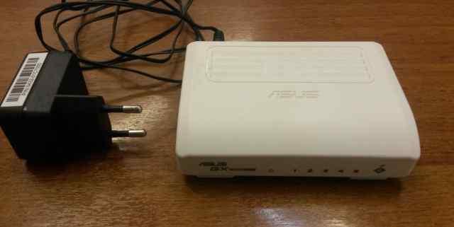 5 портовый Ethernet Коммутатор asus GX1005B
