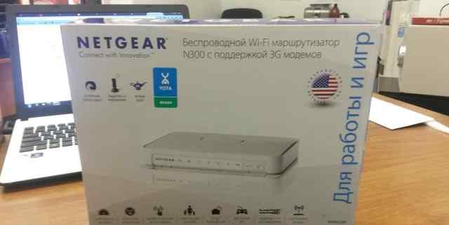 Беспроводной WiFi роутер Netgear WNR2200 N300 Yota
