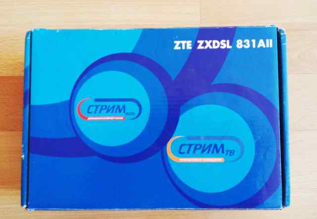 ZTE zxdsl 831 AII