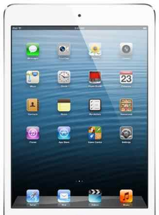 iPad mini Wi-Fi 16 GB White