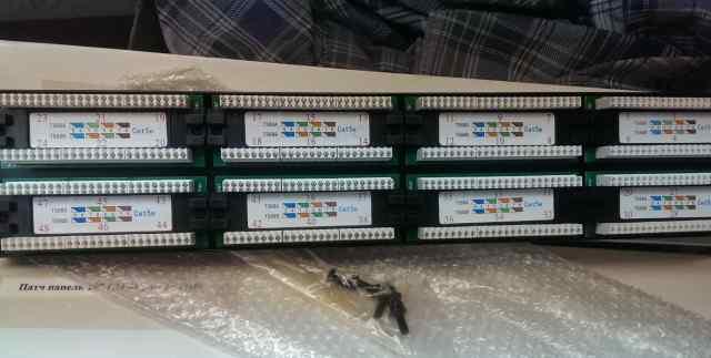 Патч панель 48 портов 5e