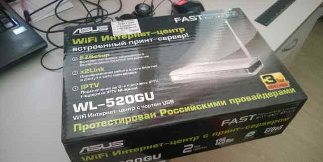Модем asus WL-520GU