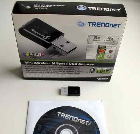 Wi-Fi адаптер Trendnet TEW-649UB