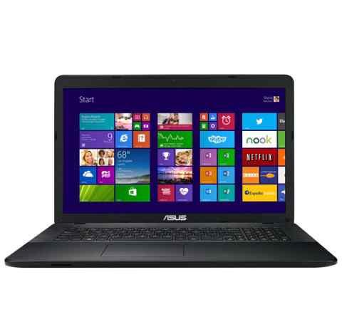 Новый ноутбук asus X751LDV