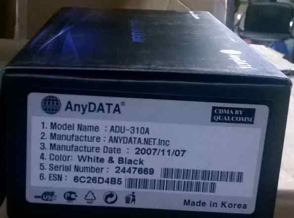 Anydata ADU-310A