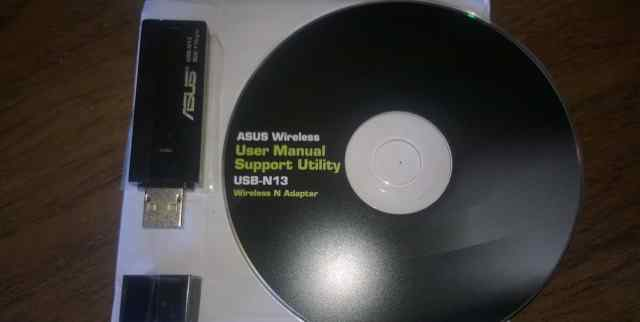 Wifi адаптер asus USB N-13