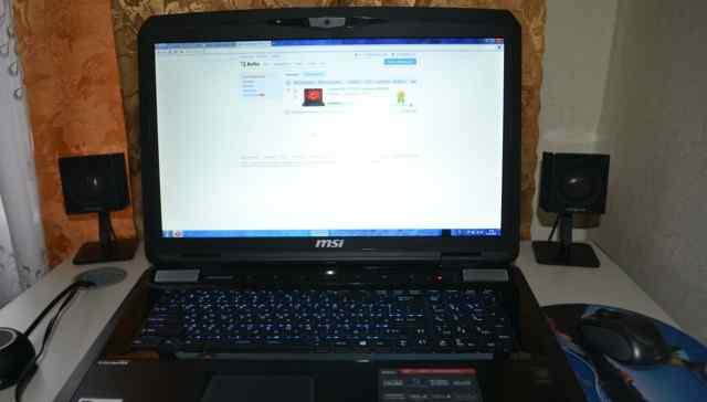 GTX 980M 8GB I7-4810MQ MSI GT70 nVidia