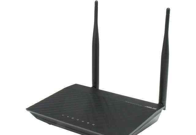 Роутер asus RT-N12/D1 Wireless-N300 3-in-1 Route
