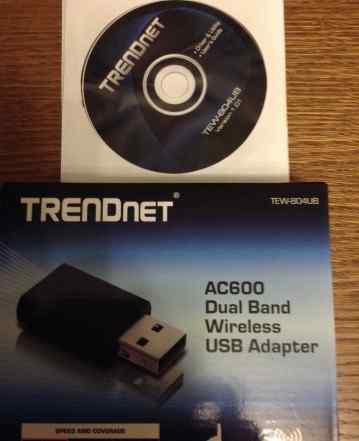Новый Wi-Fi адаптер Trendnet TEW 804-UB