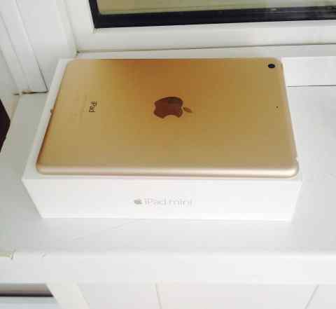 iPad mini 3 gold wifi