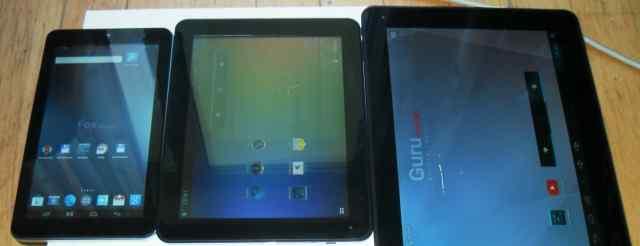 3 планшета с wifi