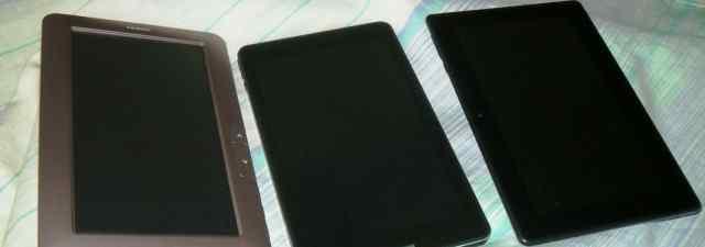 Глючные планшеты и читалка