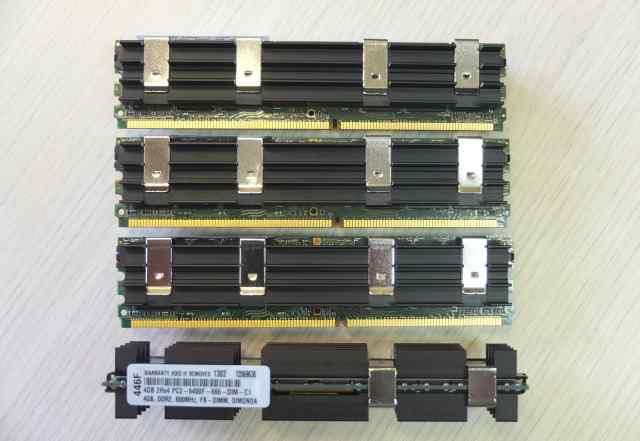 4Gb для Mac Pro PC2 6400F 800 MHz fbdimm