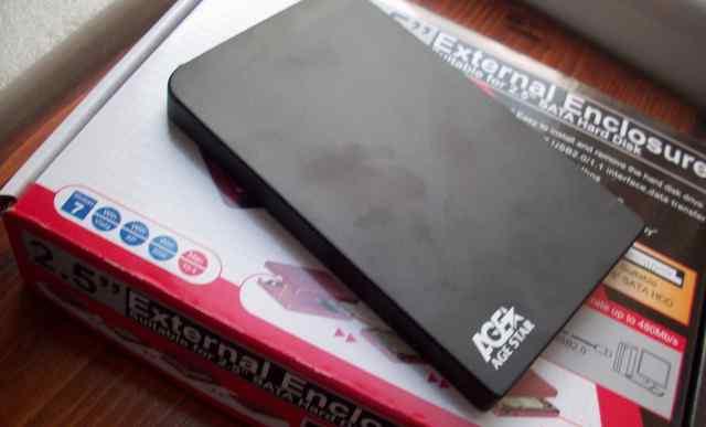 Внешний жесткий диск на 250гб