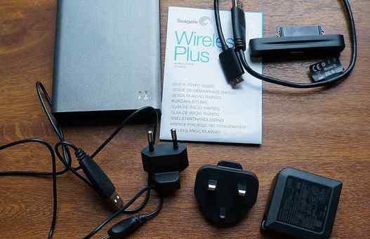 Seagate Wireless Plus, накопитель с Wi-Fi