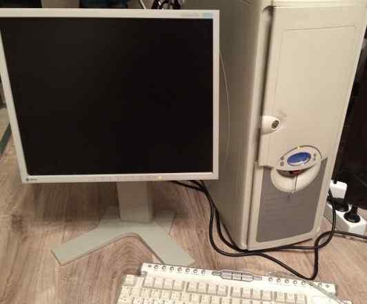 Компьютер 2.6Гц с монитором 17