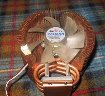 Отличный моддинговый куллер zalman ZF9225ATH