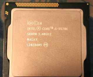 Процессор I5-3570k