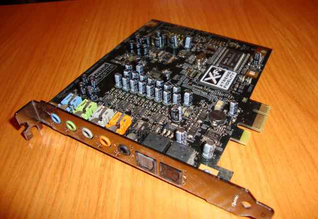 Creative Sound Blaster X-Fi Titanium PCI-E (новая)