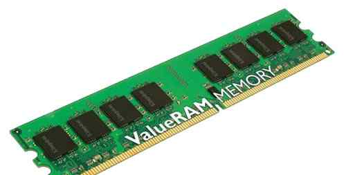 Память DDR2 Kingston KVR800D2N5/1G 2x1 гб