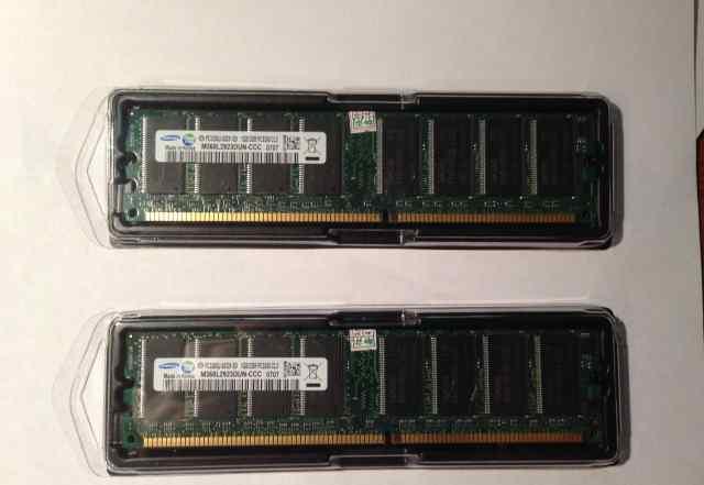 Samsung PC3200 DDR 400 2x1GB